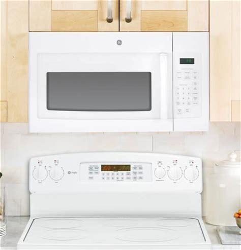 built in microwave ovens with exhaust fan ge jnm3161rfss 1 6 cu ft over the range microwave oven