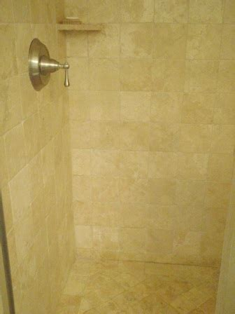 Travertine Shower, Hot to Clean Travertine Tile, Clean