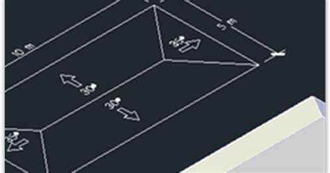 desain rumah  autocad  contoh