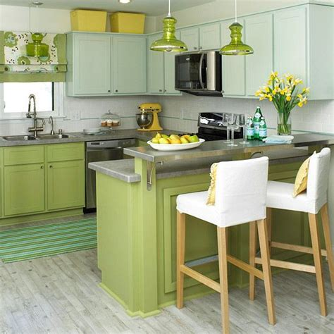 small kitchen decorating ideas colors cheerful summer interiors 50 green and yellow kitchen
