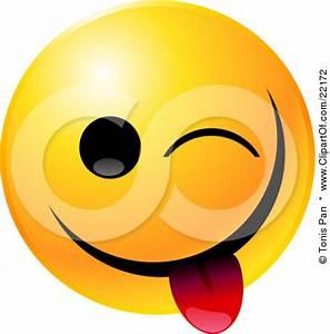 Winking Smiley Face Clip Art | Clipart Panda - Free ...
