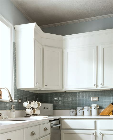 kitchen backsplash height how to add height to kitchen cabinets