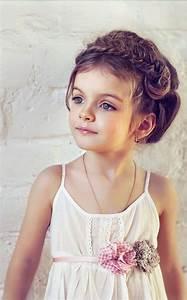 50 Easy Wedding Hairstyles For Little Girls Boda Flor Y