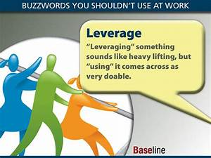 Buzzwords You Shouldn't Use at Work