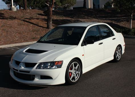 Mitsubishi Lancer Evo 9 For Sale by 32k Mile 2004 Mitsubishi Lancer Evolution 8 Rs For Sale On