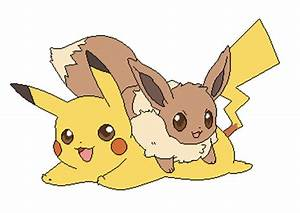 Pokemon Cute Pikachu And Eevee Images | Pokemon Images