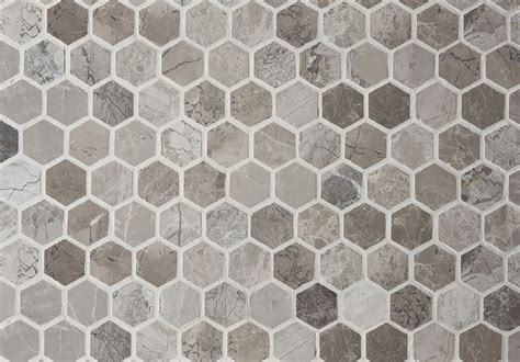 Marble Mosaic Tile by Anzer Grey Polished Marble Mosaic Tiles Floors Of