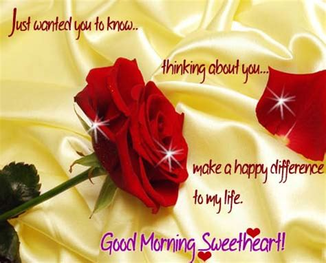 thinking   sweetheart  good morning ecards greeting cards