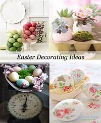 easter decorating ideas Decorating with Easter Eggs