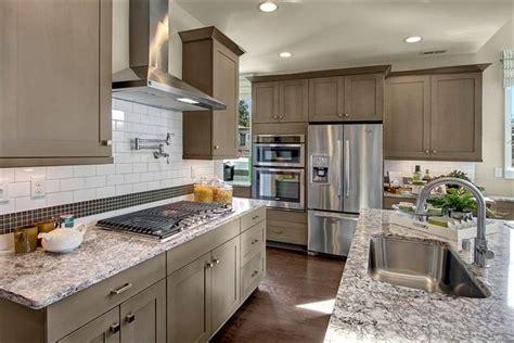 kitchen tiles color combination subway tile backsplash with inset design neutral 6290