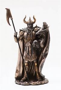 Loki Half Jotunn Norse Myth Pagan God Viking Figurine