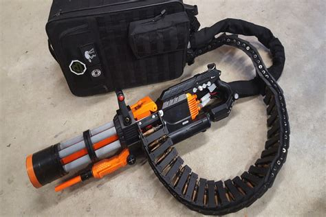 How To Mod The Ultimate Nerf Rival Minigun