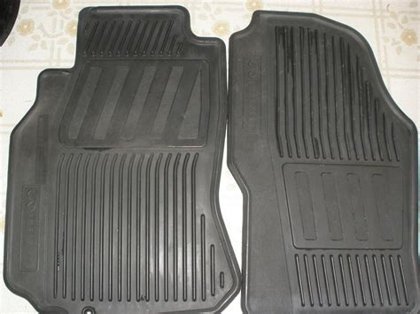 genuine infiniti floor mats black rubber g35driver