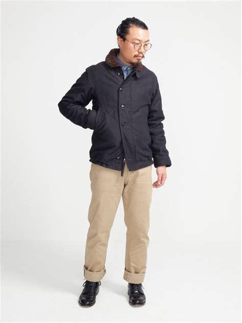 the real mccoy s n 1 deck jacket menswear pinterest