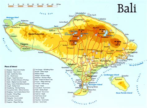 tourism bali tourism map   people  planning