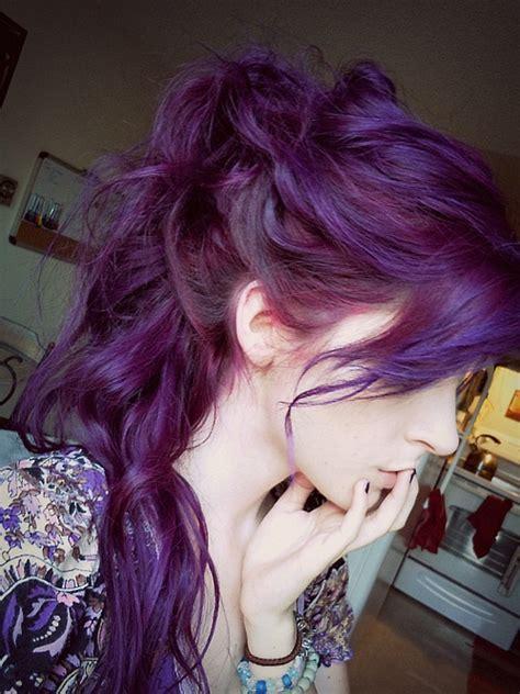 Mistery 6 Plum Mistique Violet Purple Hair Color Hairchalk
