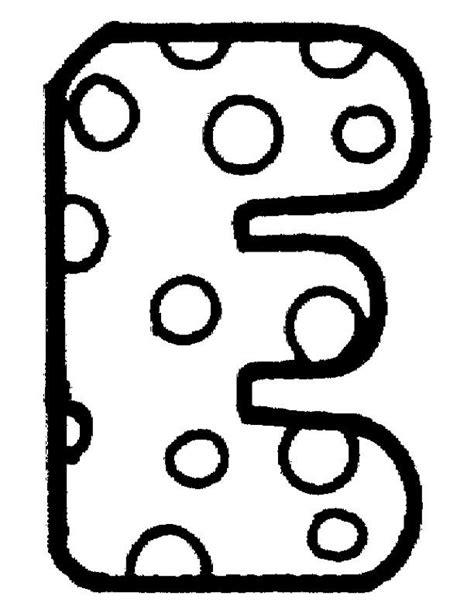 Letter Kleurplaat by Kleurplaat Letter E Lezen Alfabet Kleurplaten