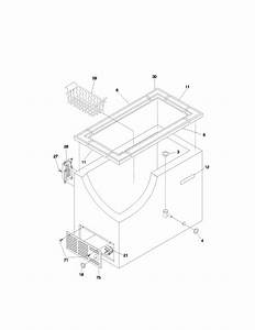 Frigidaire Ffc09k0bw0 Chest Freezer Parts