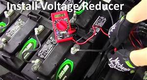 How To Install 36 Or 48 Volt Voltage Reducer For Lights Or