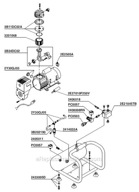 Senco PC1010 Parts List and Diagram : eReplacementParts.com