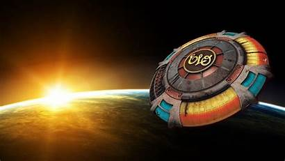 Elo Orchestra Electric Spaceship Wallpapers Ship Lynne