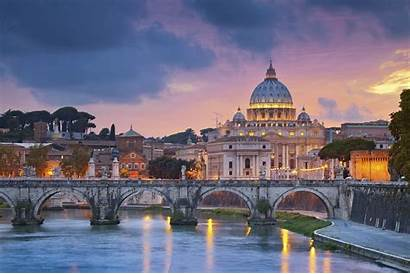 Vatican Rome Wallpapers Cathedral Concrete Bridge Italy