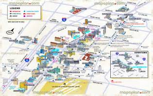 las vegas map tourist information 3d new map showing best hotels casinos locations major