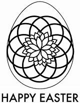 Easter Coloring Adult Egg Printable Downloads sketch template