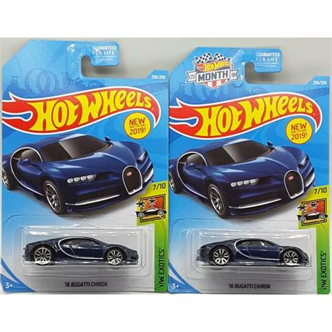 View details and collect the hot wheels '16 bugatti chiron racecar in black. Hot Wheels Bugatti Chiron Saanich, Victoria