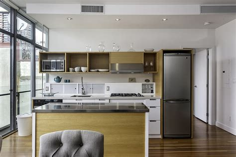 Tiny Apartment Kitchen Ideas - dramatic views and a snazzy interior shape loft style apartment in vancouver