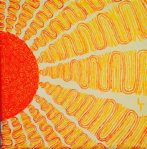 Zentangle Acrylic Sun on Canvas | Sun painting, Sun art ...
