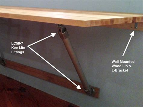 wall mounted bar table wall mounted table diy jpg kitchen