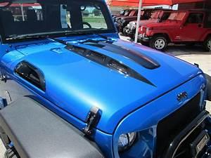07 18 Black Mountain Jeep JK Wrangler Cowl Hood W Vents