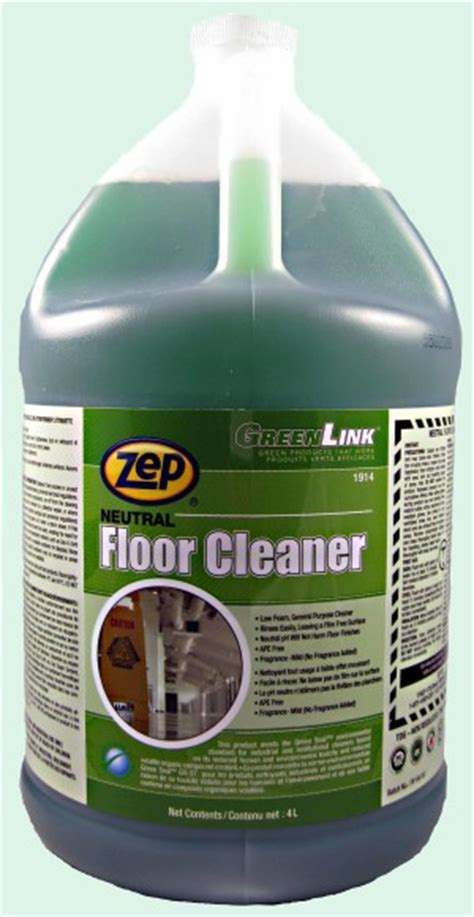 Zep Neutral Floor Cleaner by Green Link Neutral Floor Cleaner Soap Stop