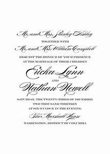 Wedding lists both sets of parents as hosts but the bride for Wedding invitation etiquette grandparents