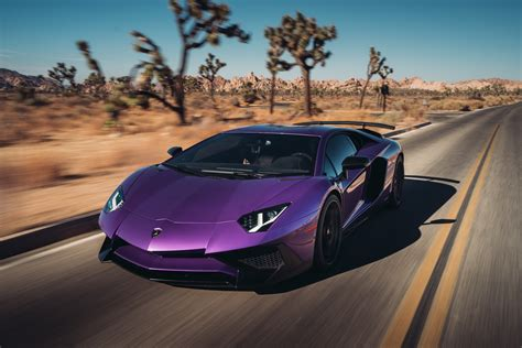 lamborghini aventador lp  sv  hd cars  wallpapers
