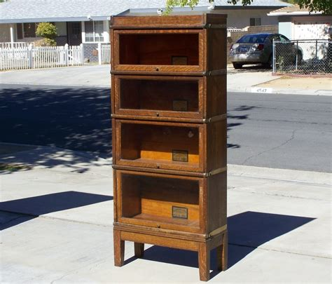 Lawyers Bookcases For Sale by 4 Section Lawyer Bookcase For Sale Antique Barrister