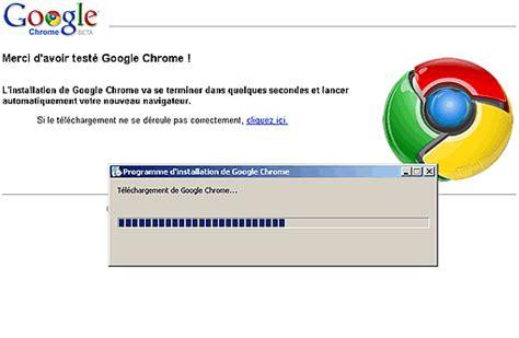 google chrome installer telechargement lent