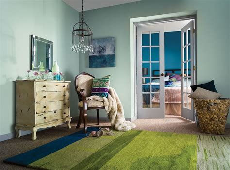green paint color mood color always sets the mood soft green creates a peaceful space blue conjures up the sky