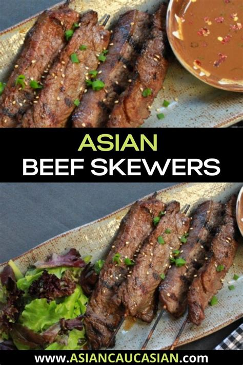 Classic french bernaise sauce june d'arville. Asian Beef Skewers with Peanut Dipping Sauce | Recipe ...