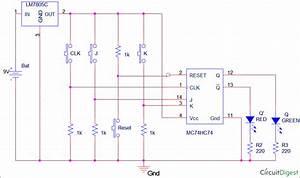 32 Flip Flops Circuits Diagram