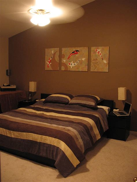attractive brown bedroom design ideas decoration love