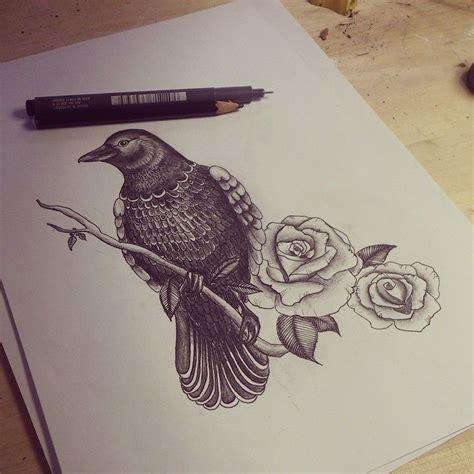 crow raven tattoos images  pinterest tattoo
