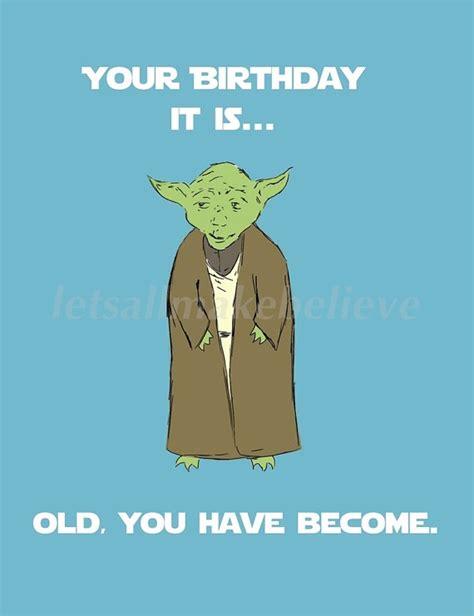 Birthday Meme Card - yoda birthday meme funny happy birthday meme