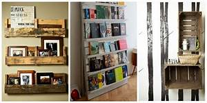 Idée Déco Salon Pas Cher : d co fait main r cup de palettes de cagettes pour ~ Zukunftsfamilie.com Idées de Décoration