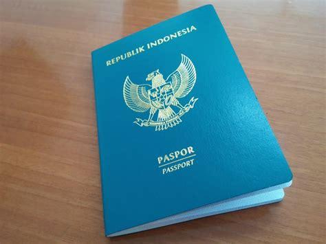 kelebihan wajah  paspor indonesia