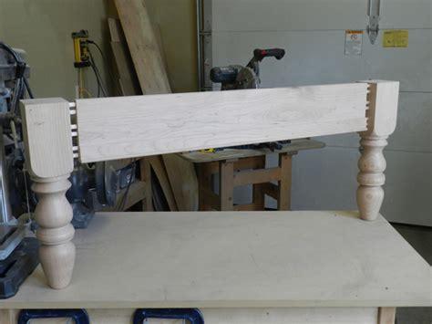 build  coffee table  turned legs dowelmax