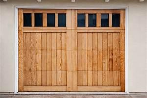 porte de garage en pvc bois ou alu quel materiau With porte de garage en bois