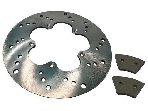 Set Of Front Brake Pads & Rotor For Harley-davidson