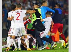 Albania claim players were assaulted by fans, stewards and